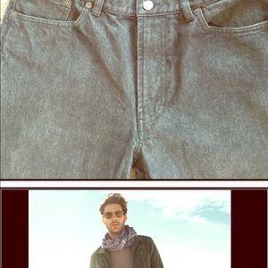 Men's banana republican Grey jeans, 33/32